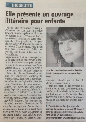 article Laetitia Baudu