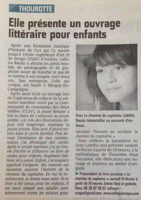 article Laetitia Baudu