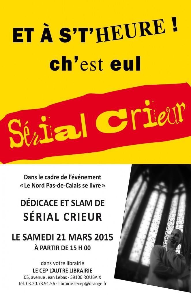 Affiche Le Cep 21_03_2015